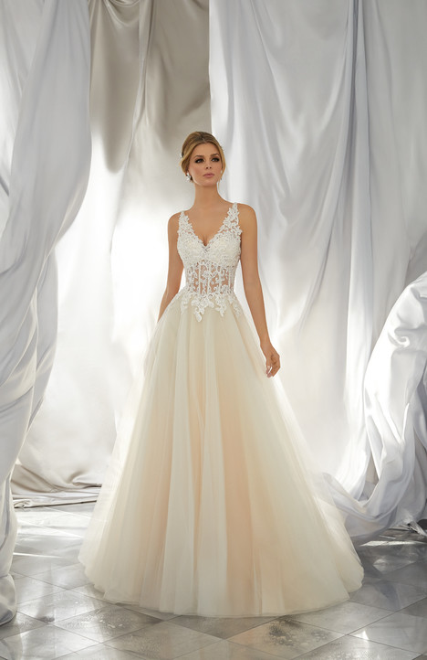 6864 Wedding                                          dress by Mori Lee: Voyage