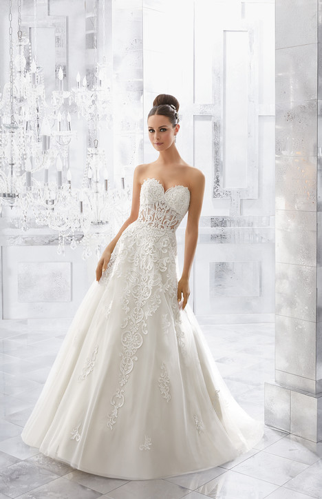 5561 Wedding                                          dress by Mori Lee: Blu