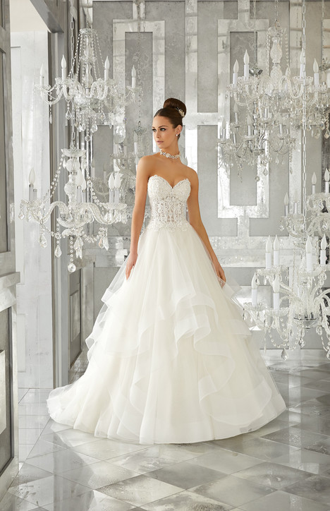 5570 Wedding                                          dress by Mori Lee: Blu