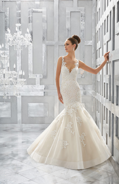 5571 Wedding                                          dress by Mori Lee: Blu