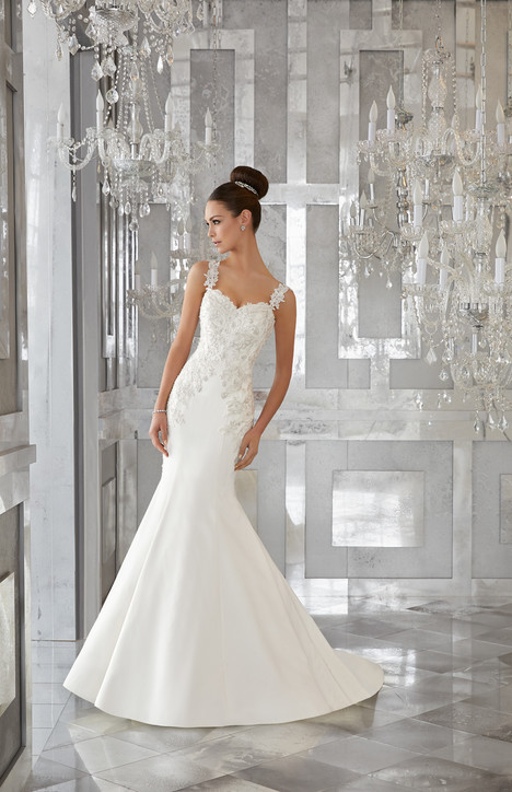 5575 Wedding                                          dress by Mori Lee: Blu