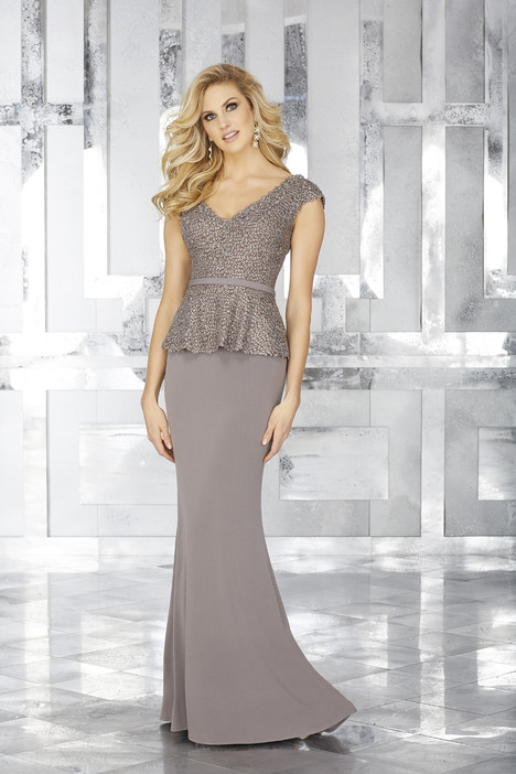 Style 71604, (taupe) gown from the 2017 MGNY Madeline Gardner collection, as seen on dressfinder.ca