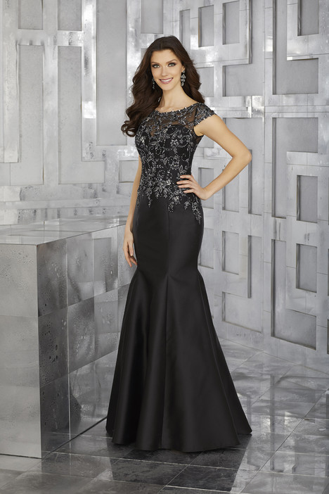 71606 (black) gown from the 2017 MGNY Madeline Gardner collection, as seen on dressfinder.ca