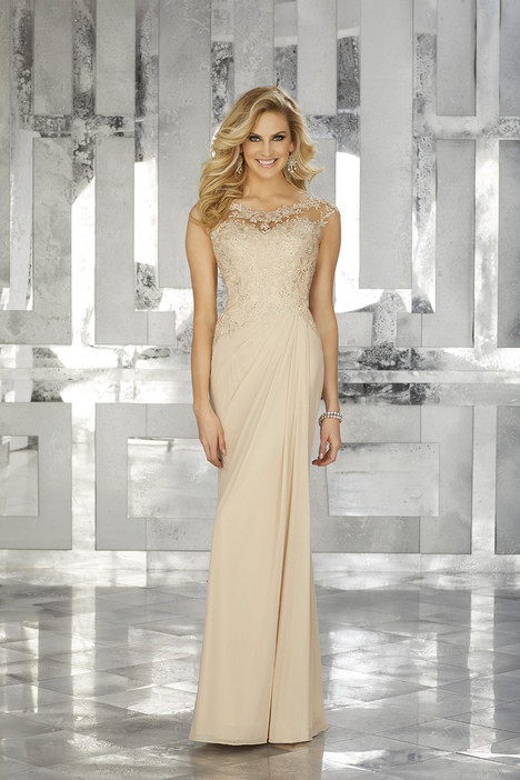 (champagne) Mother of the Bride dress by MGNY Madeline Gardner