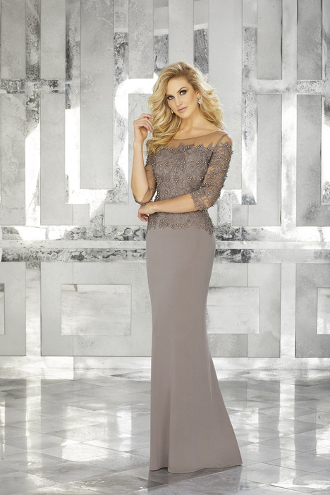 71624 (taupe) gown from the 2017 MGNY Madeline Gardner collection, as seen on dressfinder.ca