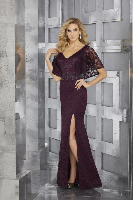 Style 71629, (burgundy) gown from the 2017 MGNY Madeline Gardner collection, as seen on dressfinder.ca