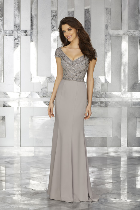 Style 71634, (silver) gown from the 2017 MGNY Madeline Gardner collection, as seen on dressfinder.ca