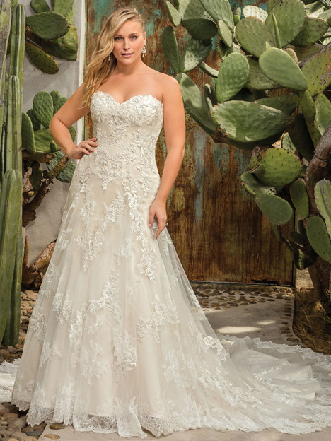 Everly (2291) (Classic Fit) gown from the 2017 Casablanca Bridal collection, as seen on dressfinder.ca