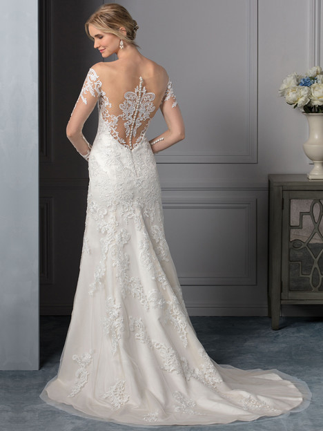 Carolina (BL239) (back) Wedding dress by Beloved By Casablanca