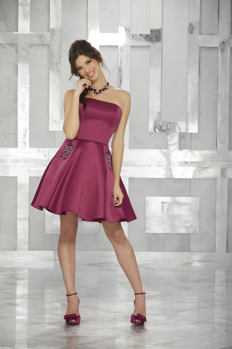 9451 (black cherry) Prom                                             dress by Morilee Damas