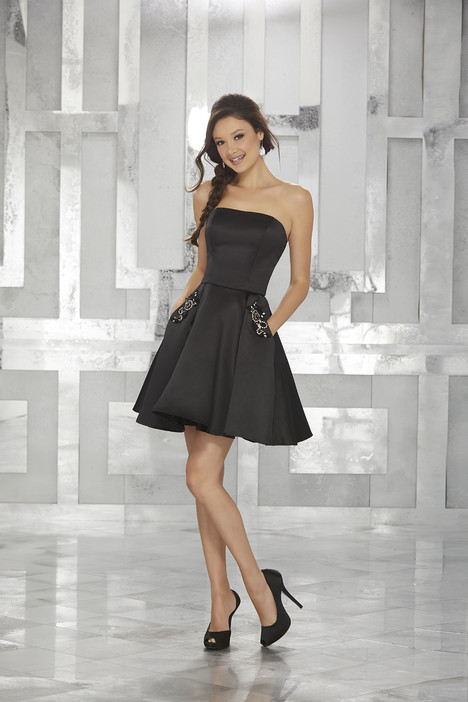 9451 (black) Prom                                             dress by Morilee Damas