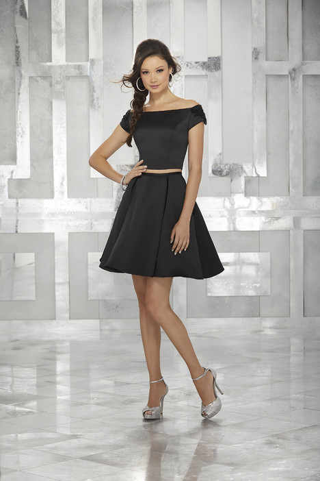 9452 (black) Prom                                             dress by Morilee Damas