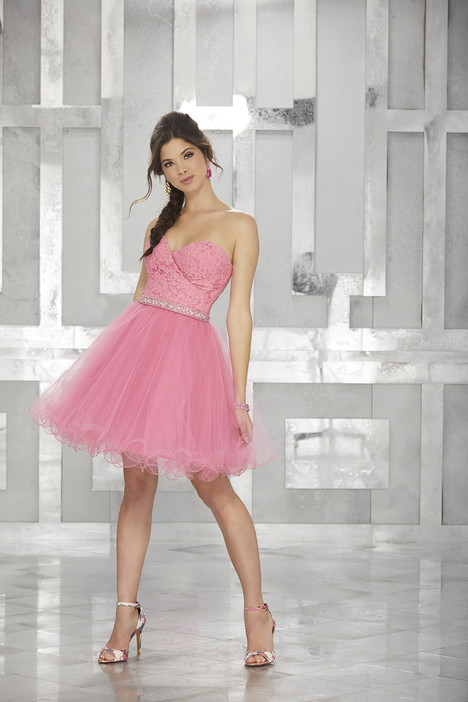 9453 (guava) Prom                                             dress by Morilee Damas