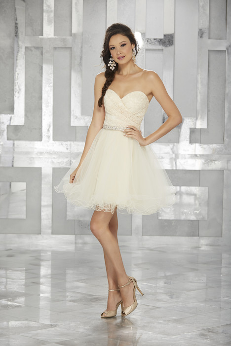 (champagne) Prom dress by Morilee Damas