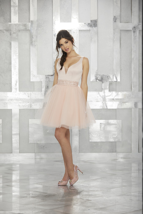9454 (blush) Prom                                             dress by Morilee Damas
