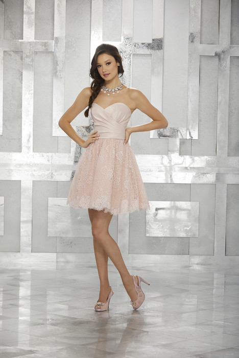 9455 (blush) Prom                                             dress by Morilee Damas