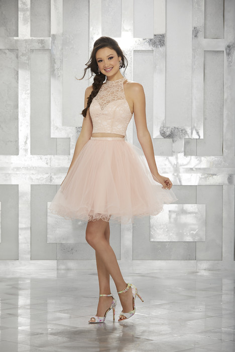 9456 (blush) Prom                                             dress by Morilee Damas