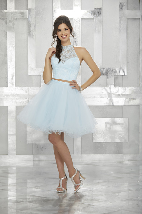 9456 (aqua) Prom                                             dress by Morilee Damas