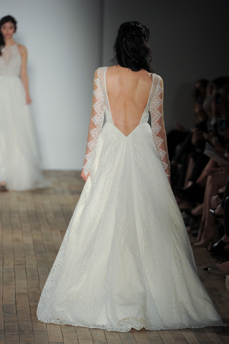 Bandit (1758) (back) Wedding                                          dress by Blush by Hayley Paige