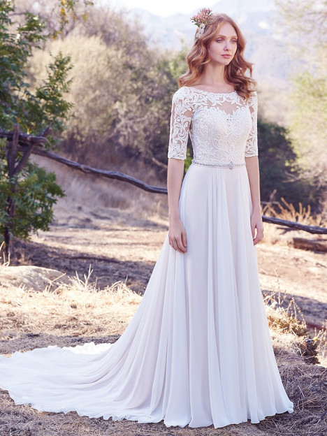 Darcy Wedding                                          dress by Maggie Sottero