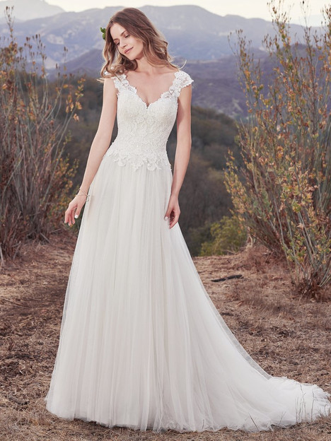 Hensley Wedding                                          dress by Maggie Sottero