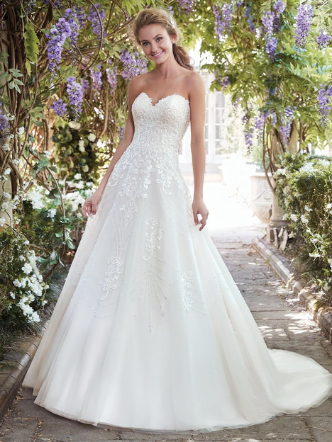 Edith (7RS883) Wedding                                          dress by Rebecca Ingram