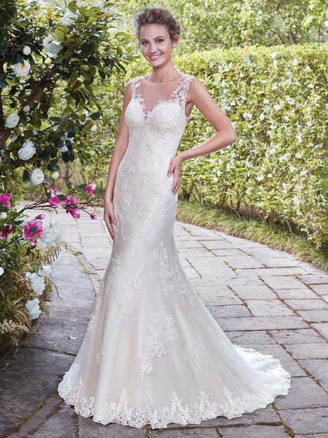 Eloise (7RS887) Wedding                                          dress by Rebecca Ingram