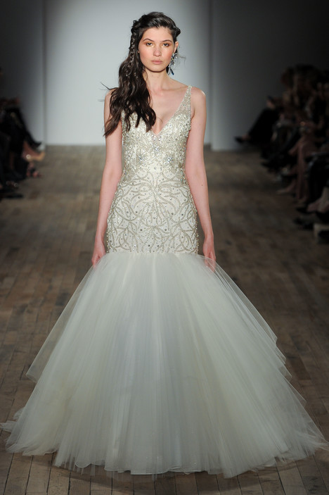 3752 Wedding                                          dress by Lazaro