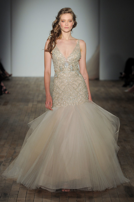3752 (2) Wedding                                          dress by Lazaro