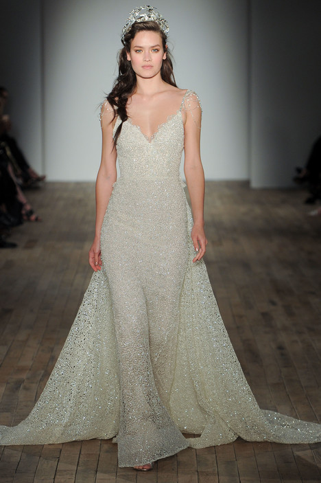 3753 Wedding                                          dress by Lazaro