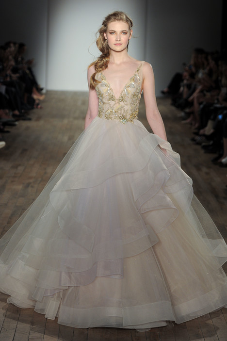 3755 Wedding                                          dress by Lazaro