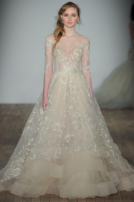 3758 Wedding                                          dress by Lazaro