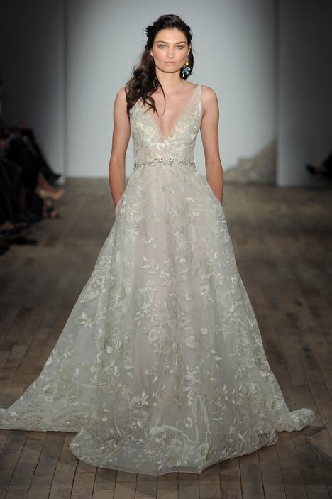 3759 Wedding                                          dress by Lazaro