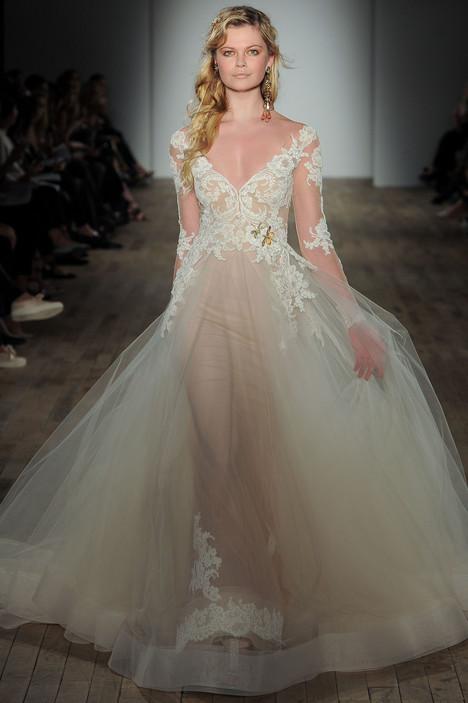 3762 Wedding                                          dress by Lazaro