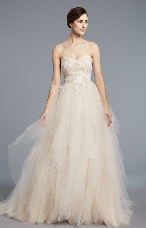 Bouvier Wedding                                          dress by Anne Barge
