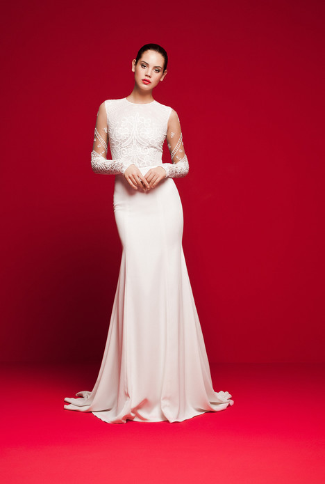 LVS-336 Wedding                                          dress by Daalarna