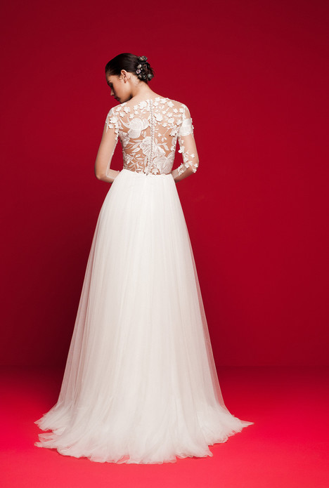 LVS-338 (back) Wedding                                          dress by Daalarna
