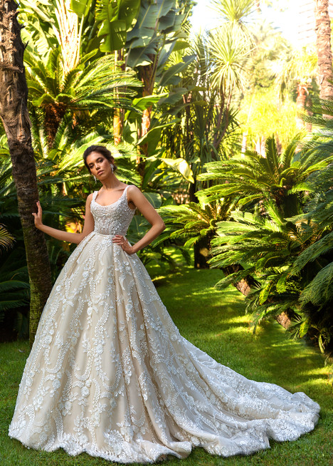 Etolie Wedding                                          dress by Crystal Design
