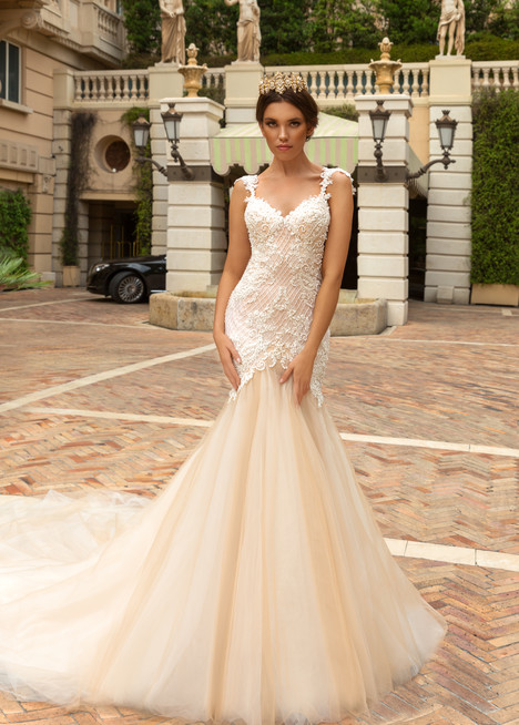 Solange Wedding                                          dress by Crystal Design