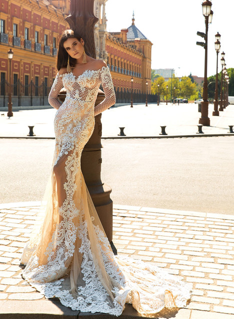 Marisol Wedding                                          dress by Crystal Sevilia