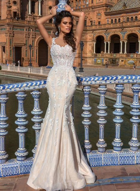 Martina Wedding                                          dress by Crystal Sevilia