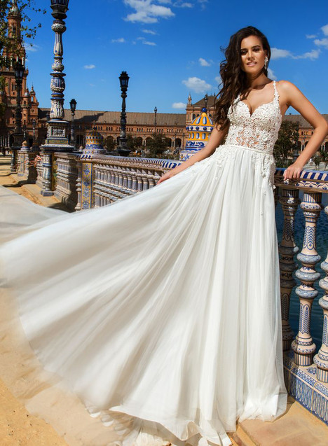 Joel Wedding                                          dress by Crystal Sevilia