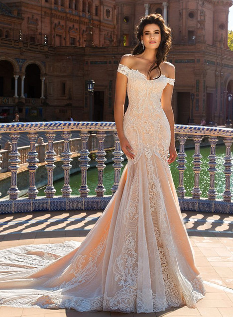Alexa Wedding                                          dress by Crystal Sevilia