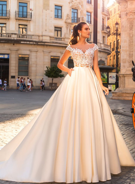 Diana Wedding                                          dress by Crystal Sevilia