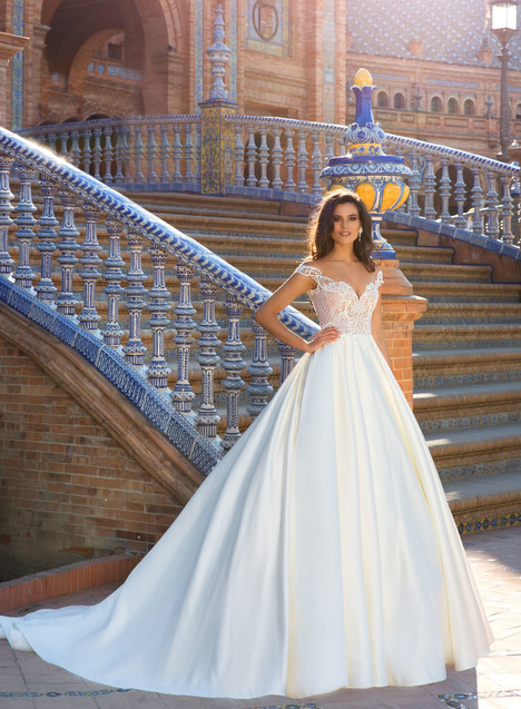Isabel Wedding                                          dress by Crystal Sevilia