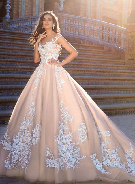 Jill Wedding                                          dress by Crystal Sevilia