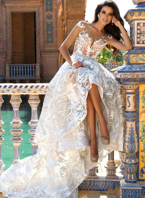 Ivis Wedding                                          dress by Crystal Sevilia