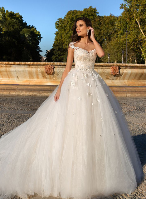 Helena Wedding                                          dress by Crystal Sevilia