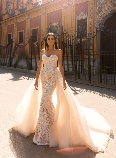 Marjerie (+ overskirt) Wedding dress by Crystal Sevilia