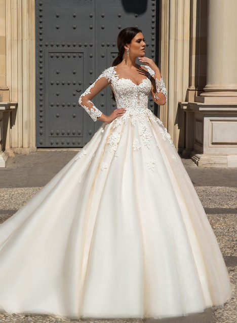 Alanie Wedding                                          dress by Crystal Sevilia